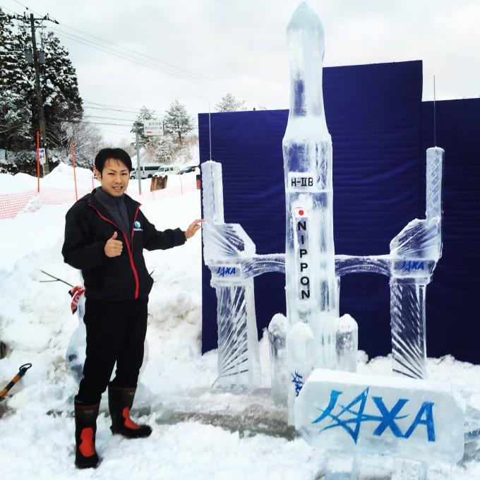 氷彫刻 HⅡ-B